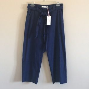 Vineyard Vines | Catamaran Linen Cropped Pant NWT
